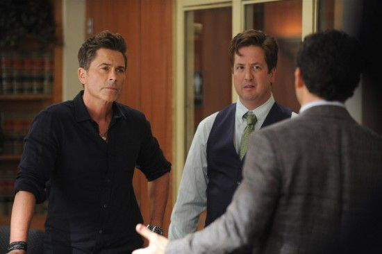 Critiques Séries : The Grinder. Saison 1. Episode 3.