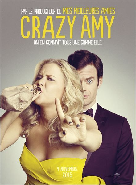 Critique Ciné : Crazy Amy (2015)