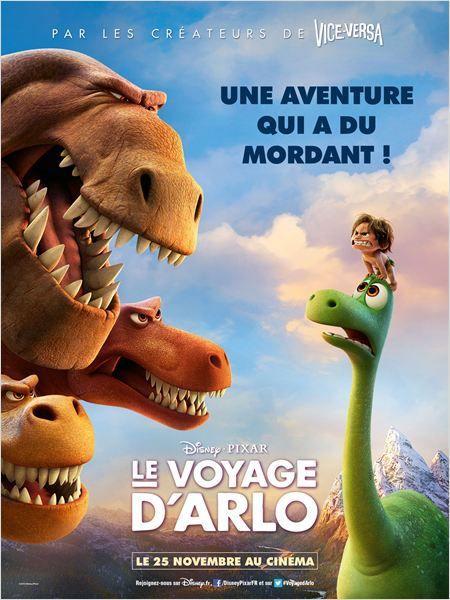 Critique Ciné : Le Voyage d'Arlo (2015)