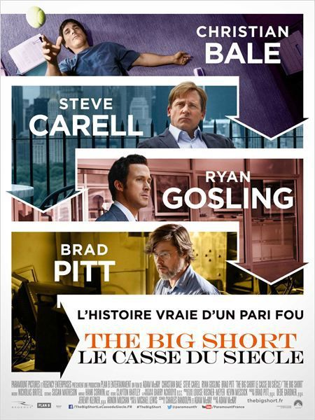 Critique Ciné : The Big Short : le casse du siècle (2015)