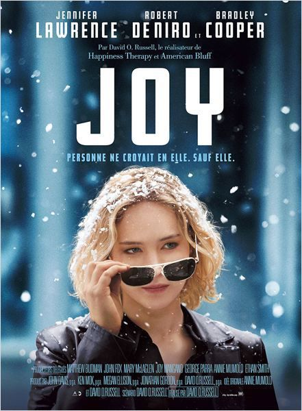 Critique Ciné : Joy (2015)