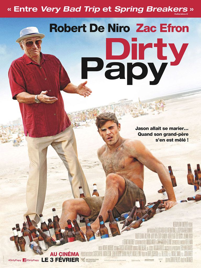 Critique Ciné : Dirty Papy (2016)