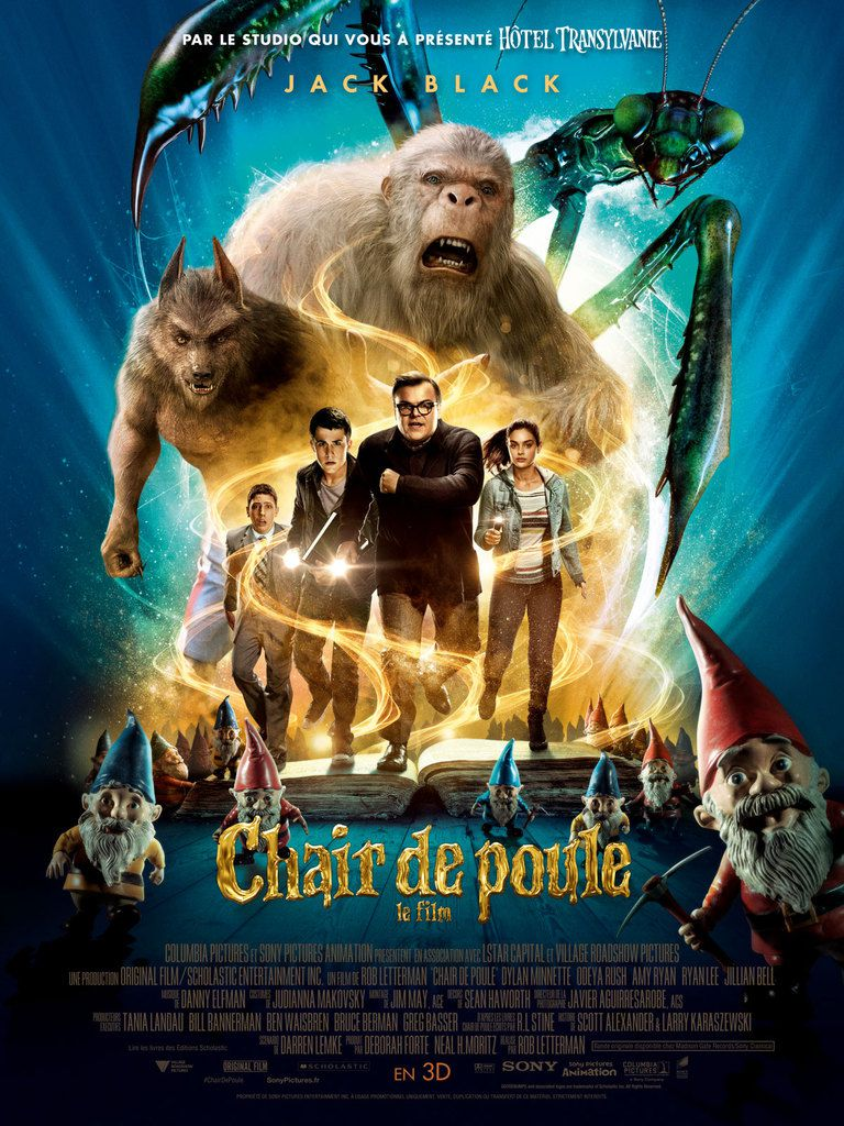 Critique Ciné : Chair de Poule, le film (2016)