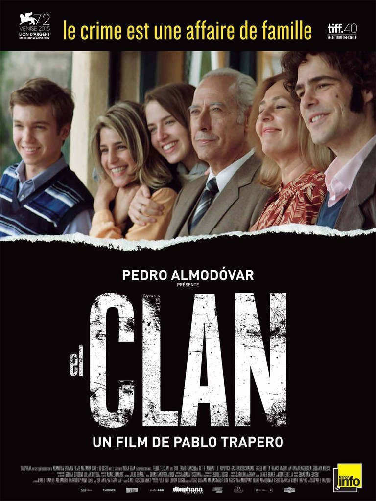 Critique Ciné : El Clan (2016)