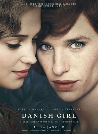 Critique Ciné : The Danish Girl (2016)