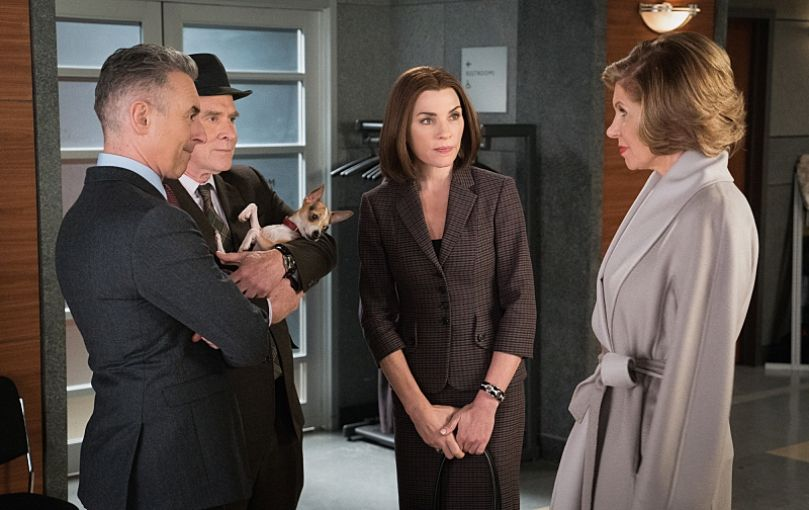 Critiques Séries : The Good Wife. Saison 7. Episode 16.