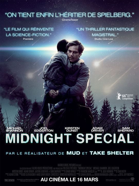 Critique Ciné : Midnight Special (2016)