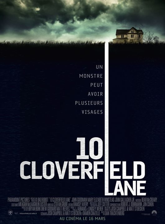 Critique Ciné : 10 Cloverfield Lane (2016)