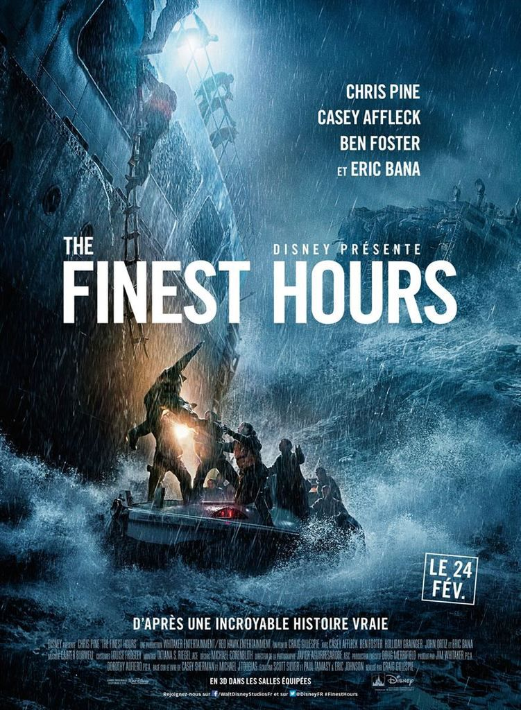 critique cin the finest hours 2016 critiques s ries et cin actu breaking news a. Black Bedroom Furniture Sets. Home Design Ideas