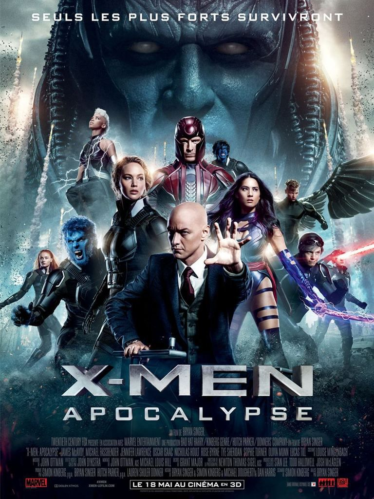 Critique Ciné : X-Men : Apocalypse (2016)