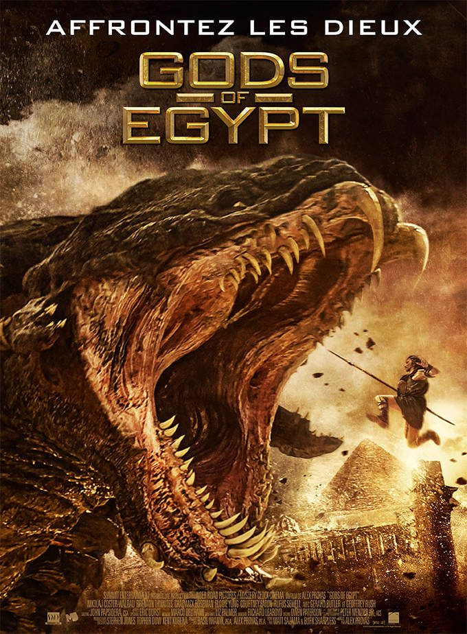 Critique Ciné : Gods of Egypt (2016)