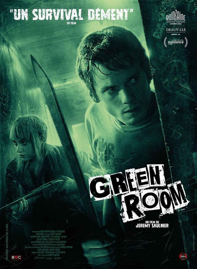 Critique Ciné : Green Room (2016)