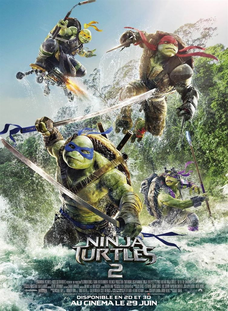 Critique Ciné : Ninja Turtles 2 (2016)