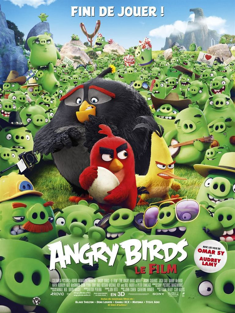 Critique Ciné : Angry Birds, le film (2016)