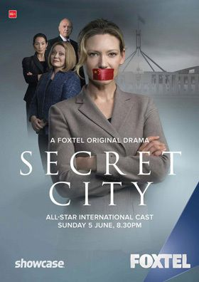 Critiques Séries : Secret City. Saison 1. BILAN (Australie).