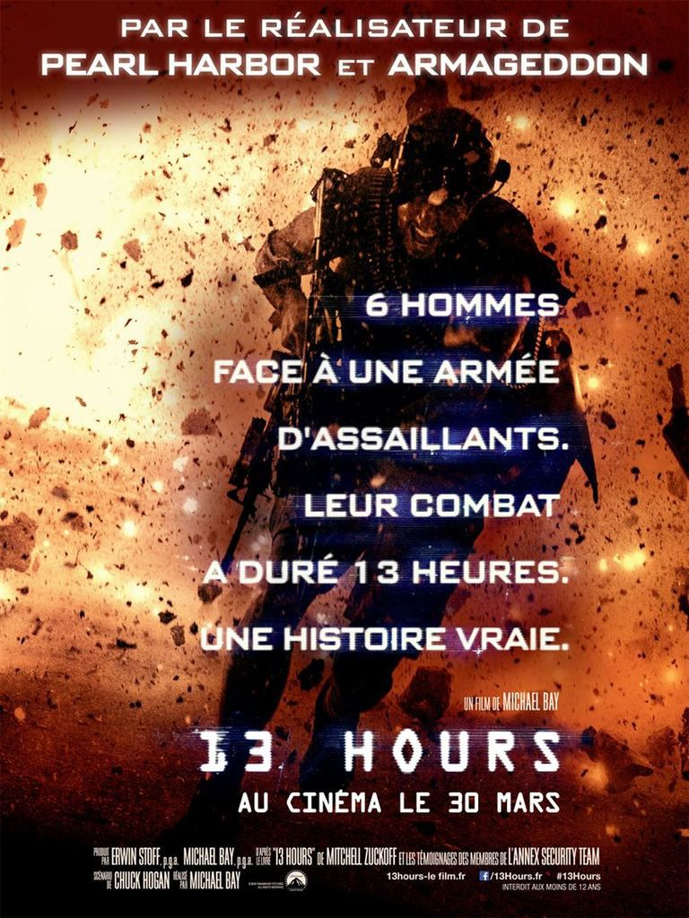 Critique Ciné : 13 Hours (2016)