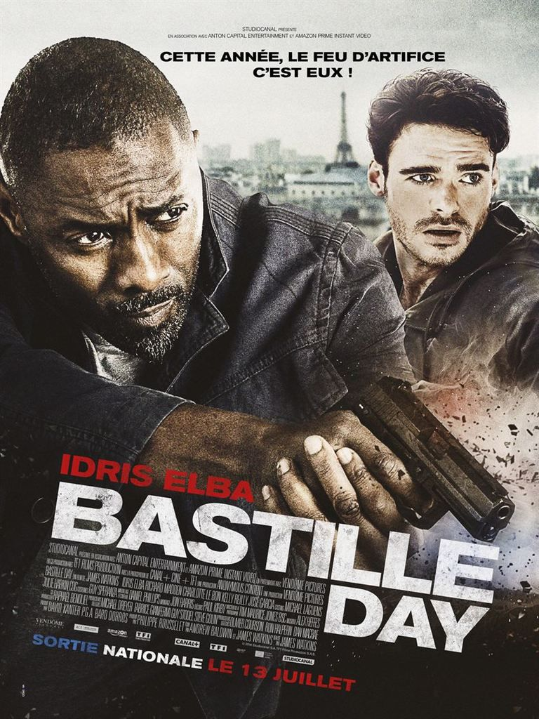 Critique Ciné : Bastille Day (2016)