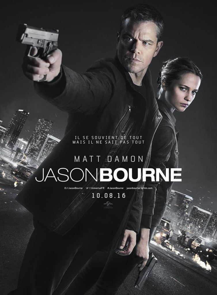 Critique Ciné : Jason Bourne (2016)