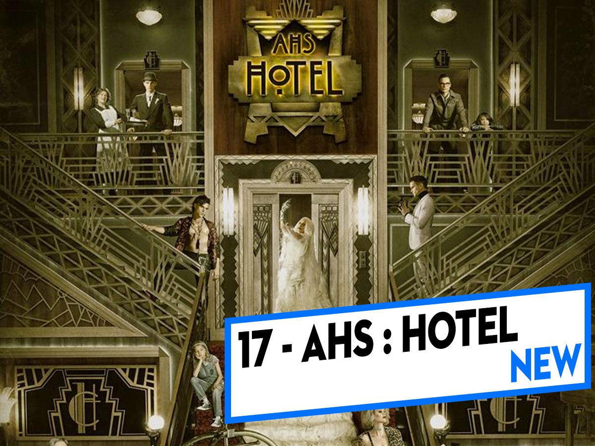 [CLASSEMENT] - 17 - American Horror Story : Hotel (Saison 5)