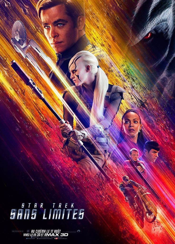 Critique Ciné : Star Trek sans limites (2016)