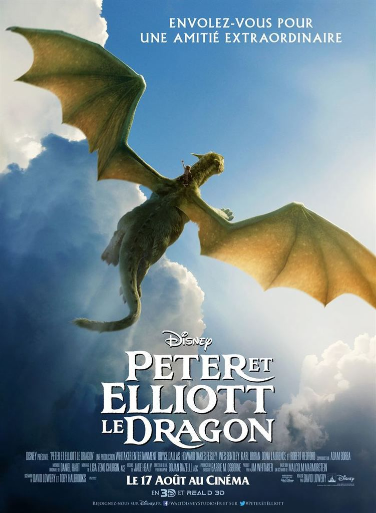 Critique Ciné : Peter et Elliott le dragon (2016)