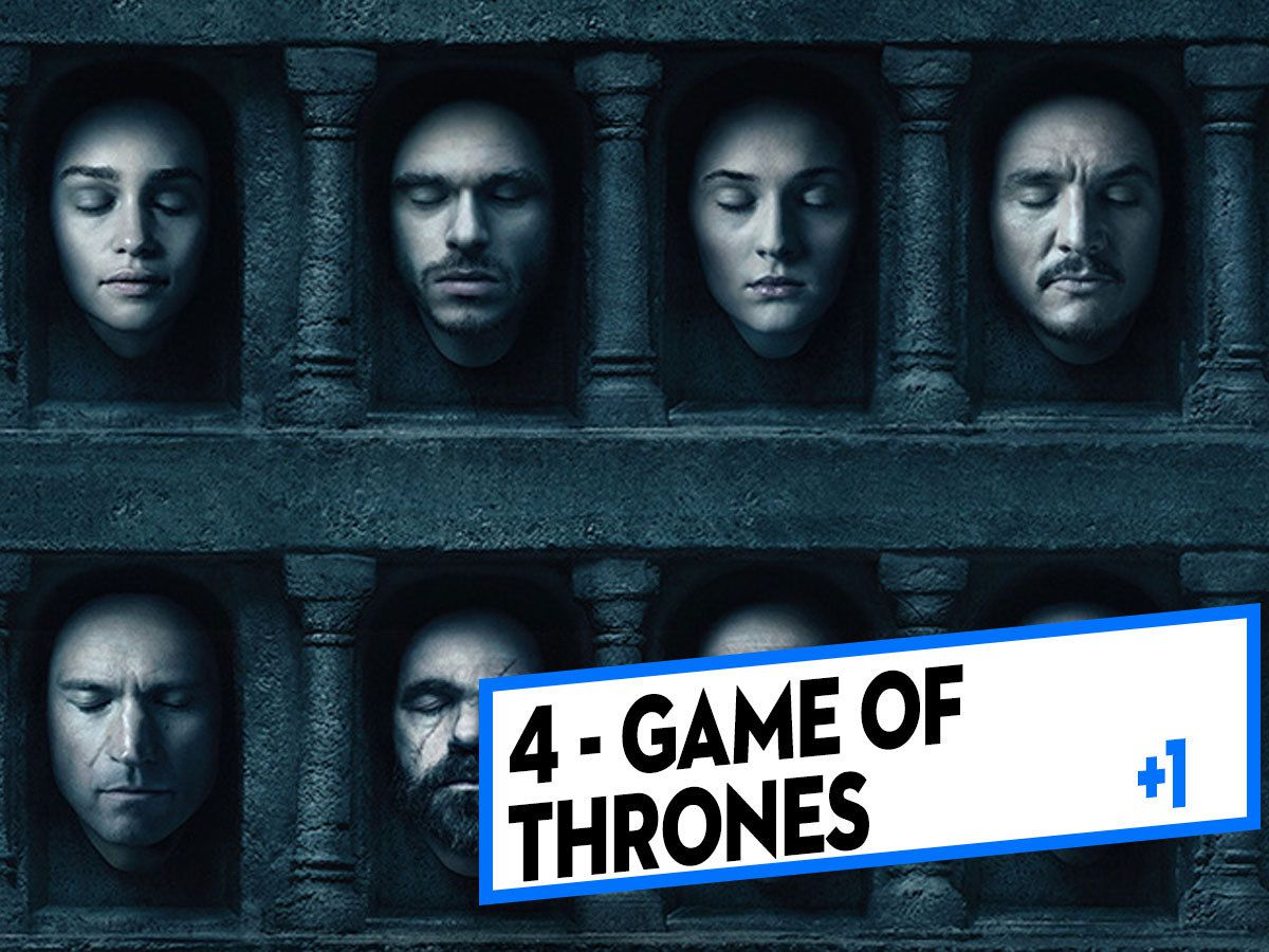 [CLASSEMENT] - 4 - Game of Thrones (Saison 6)