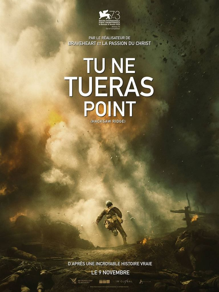 Critique Ciné : Tu ne tueras point (2016)