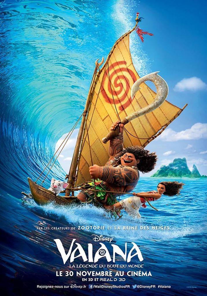 Critique Ciné : Vaiana, la légende du bout du monde (2016)