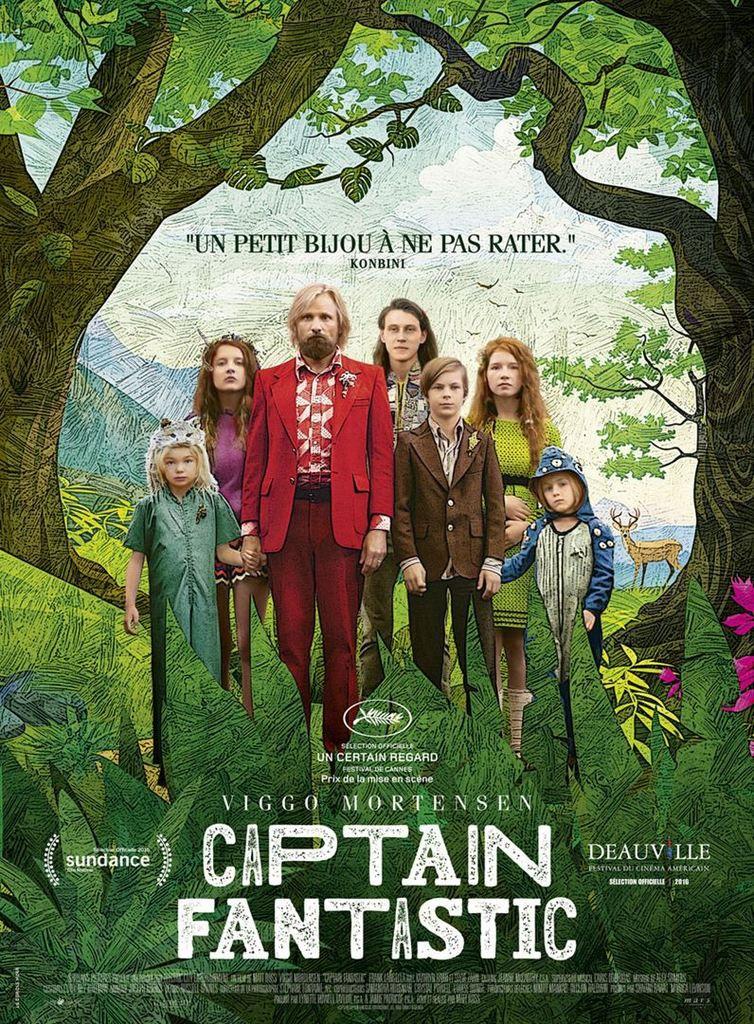 Critique Ciné : Captain Fantastic (2016)