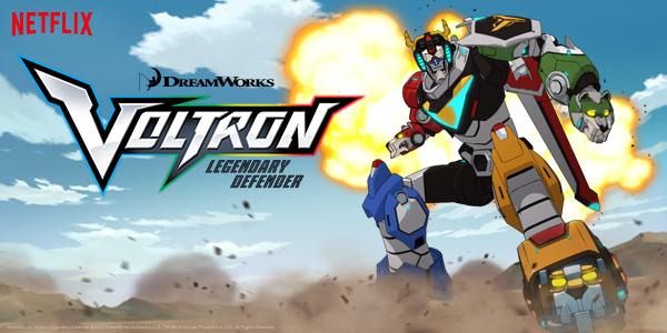 Voltron : Legendary Defender (Saison 1, 13 épisodes) : joujou au pays des robots