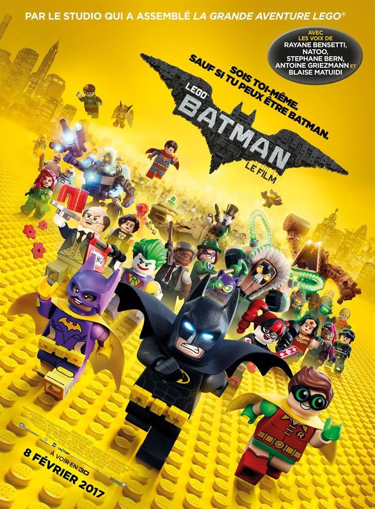 Critique Ciné : Lego Batman, le film (2017)