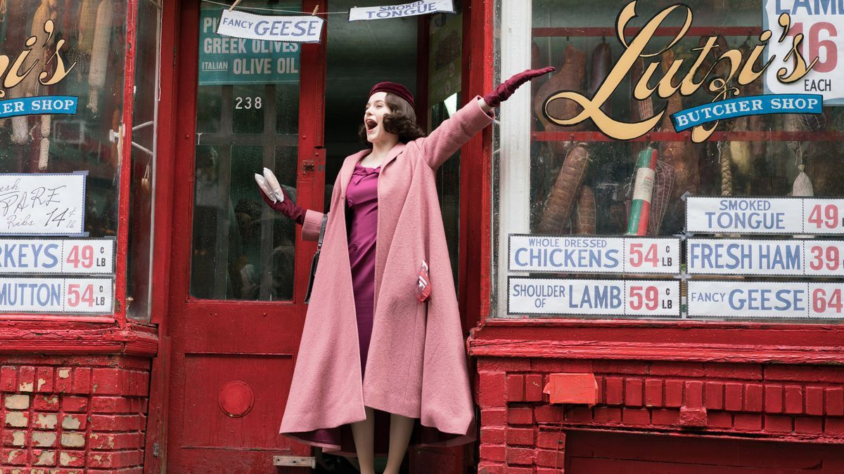 Critiques Séries : The Marvelous Mrs. Maisel. Saison 1. Pilot.