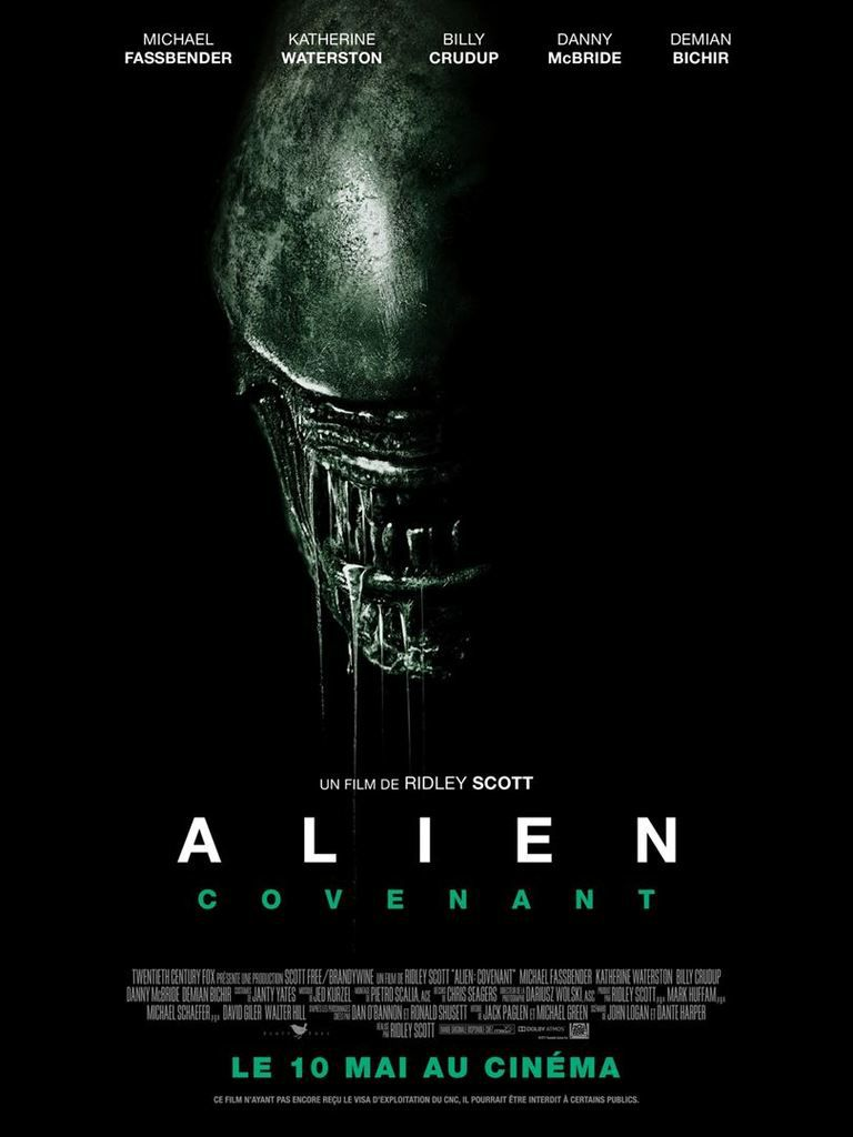 Critique Ciné : Alien: Covenant (2017)
