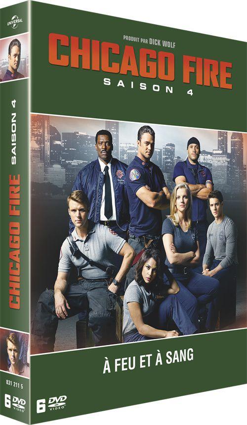 La saison 4 de Chicago Fire en DVD le 27 juin !