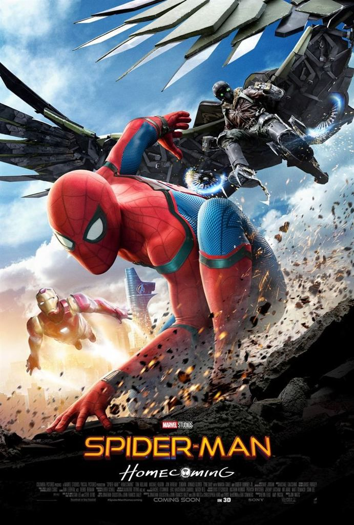 Critique Ciné : Spider-Man : Homecoming (2017)