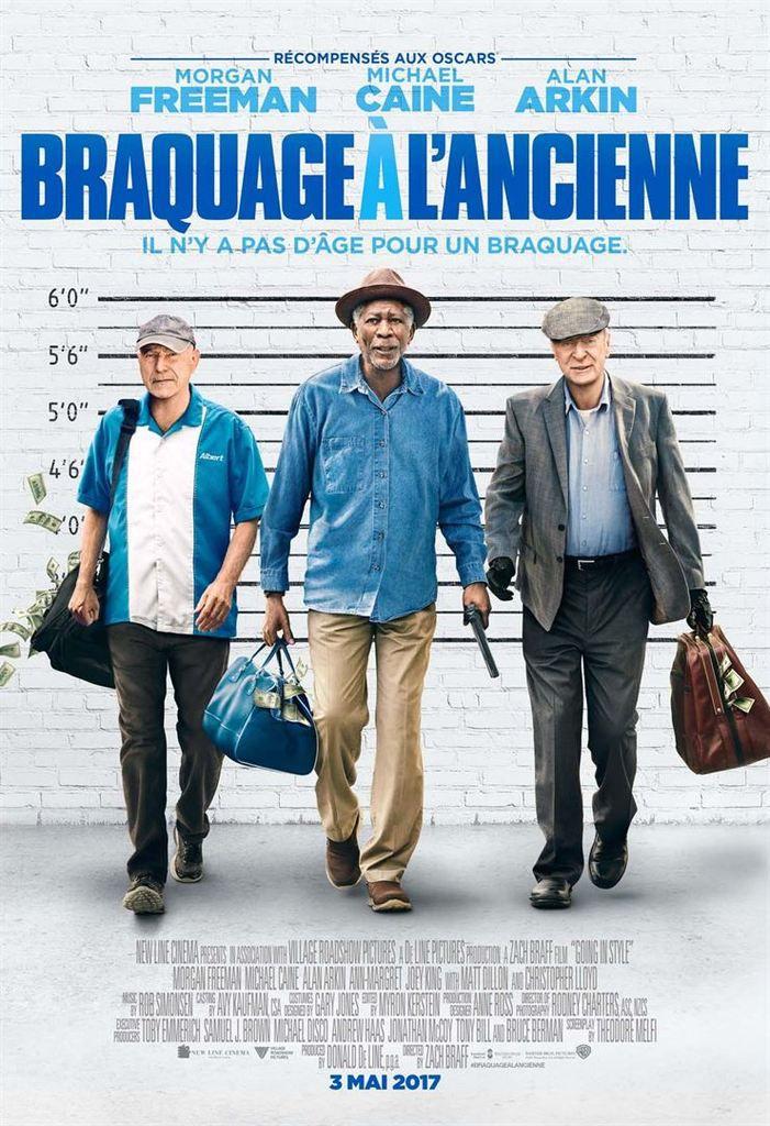Critique Ciné : Braquage à l'ancienne (2017)