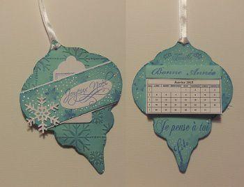 Une série de cartes : Noël et anniversaire