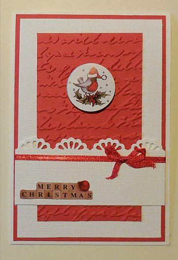 Carte joyeux Noël de Cathy