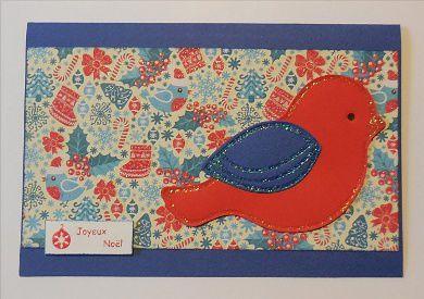 carte Joyeux Noël BA95