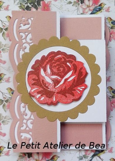 Tampon duo Rose Cottage, Grosse fleur, d'un set Stampin'Up
