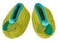 Les chaussons tricotés de Kris