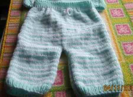 Pantalon naissance de Frédérique