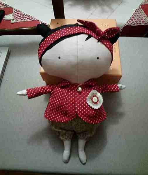 La poupée couture de Geneviève