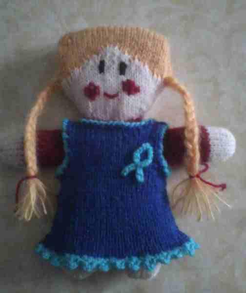 La poupée terminée de Pauline