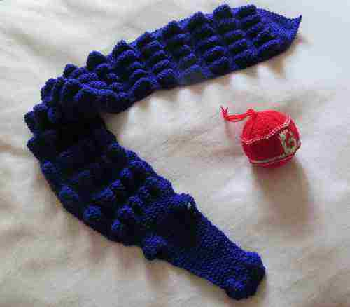 L'écharpe croco de MamyJo