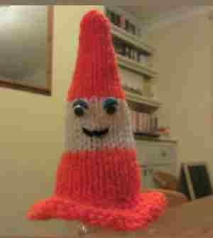 Nouveau bonnet pour Innocent !