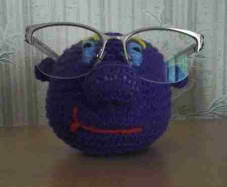 Le porte lunettes de Brigitte