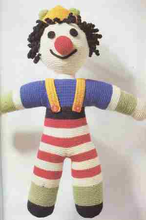 Un clown au crochet chez Marie64