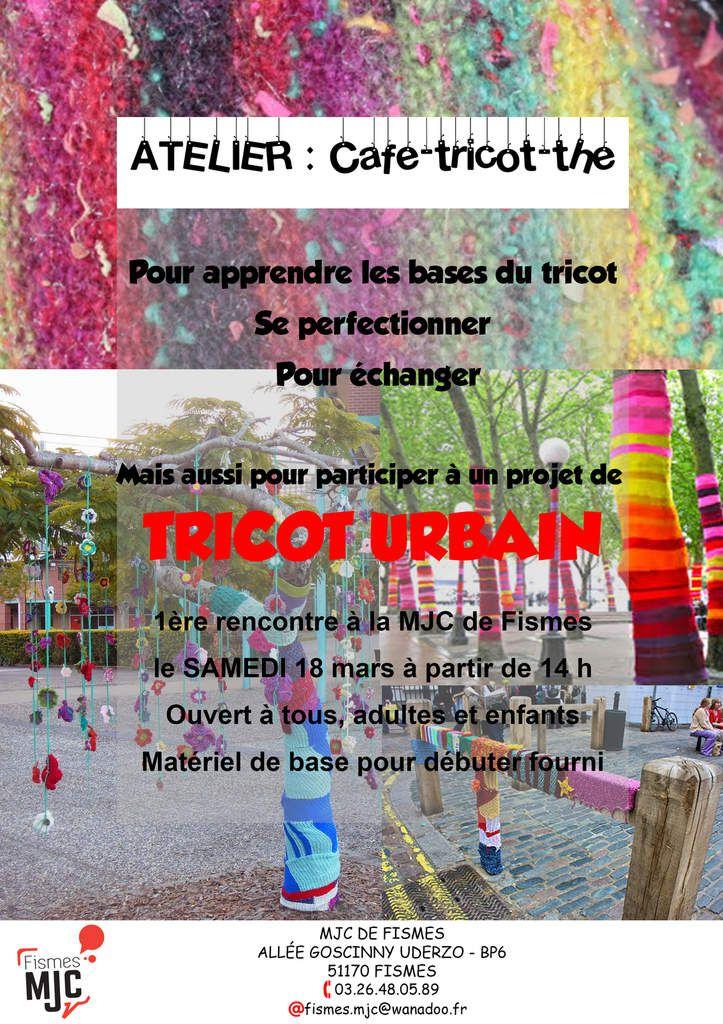 NOUVEL ATELIER  POUR TOUS / l'Atelier  café -TRICOT -thé