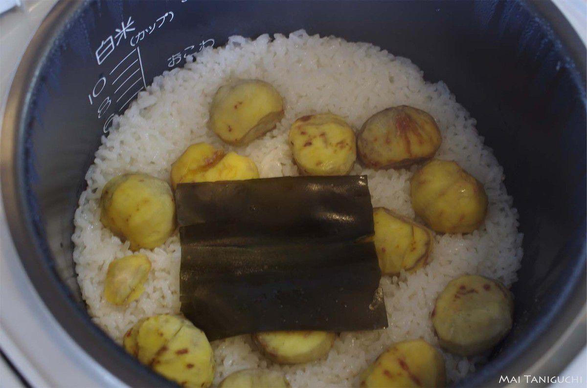 Du riz aux châtaignes